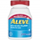 Aleve Pain Reliever Fever Reducer Easy Open Cap, Tablets - 200ct