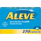 Aleve Pain Reliever/Fever Reducer Caplets - 270ct