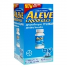 Aleve All Day Strong Pain Reliever, Fever Reducer, Liquid Gels - 120ct