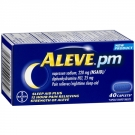 Aleve PM Pain Reliever, Nighttime Sleep-Aid Caplets - 40ct