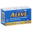 Aleve Pain Reliever/Fever Reducer Caplets- 50ct