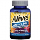 Alive! Men's 50+ Gummy Vitamins - 60ct