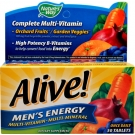 Nature's Way Alive! Men's Energy Multivitamin Multimineral Tablets - 50ct