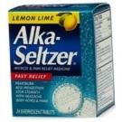 Alka-Seltzer Lemon Lime Tablet 36ct