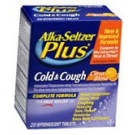 Alka-Seltzer Plus Cold And Cough Effer Tab Citrus Blend 20