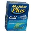 Alka-Seltzer Plus Cold Effervescent Tablets Sparkling Original 36 ct