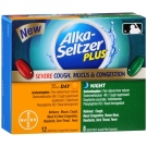 Alka-Seltzer Plus Day/Night Severe Cough, Mucus & Congestion Relief Liquid Gels- 20ct
