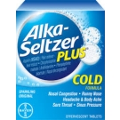 Alka-Seltzer Plus Cold Formula- 20ct