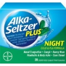 Alka-Seltzer Plus Night Cold & Flu Formula Liquid Gels- 20ct