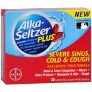Alka-Seltzer Plus Severe Sinus Cold & Cough Liquid Gels- 20ct