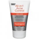 Neutrogena All-in-1 Acne Control Daily Scrub - 4.2 fl oz