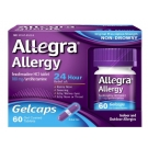 Allegra Allergy 24 Hour Gelcaps 180 mg - 60ct