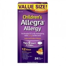 Allegra Children's Allergy 30 mg 12 Hour Orally Disintegrating Tablets Orange Cream Flavor - 24ct