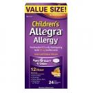 Allegra Children's Allergy 30 mg 12 Hour Orally Disintegrating Tablets Orange Cream Flavor - 24ct