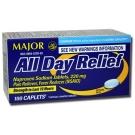 Major Naproxen Sodium 220 mg Caplet - 50ct