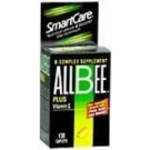 AllBee B Complex Supplement Plus Vitamin C, Caplets - 130 caplets