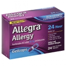 Allegra Allergy 24 Hour Non-Drowsy Gelcaps, 180mg- 24ct