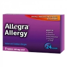 Allegra Allergy 24 Hour Non-Drowsy Tablets, 180mg- 5ct