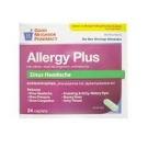 GNP® Allergy Plus Sinus Caplet- 24ct