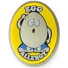 AllerMates Egg Allergy Charm for Multi-Allergy Wristband -