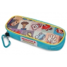 AllerMates EpiPen/AuviQ Allergy Medicine Carrying Case - Squares Pattern