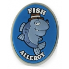 AllerMates Fish Allergy Charm for Multi-Allergy Wristband -