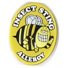 AllerMates Insect Sting Allergy Charm for Multi-Allergy Wristband -