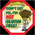 AllerMates Wheat-Gluten Allergen Alert Labels for Food Packages - 24 Label Pack