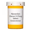 Alprazolam (Xanax) 0.25mg Tablets (Greenstone)