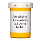 Amlodipine-Atorvastatin 2.5-20mg Tablets - 30 Count Bottle