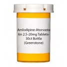 Amlodipine-Atorvastatin 2.5-20mg Tablets- 30ct Bottle (Greenstone)