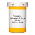 Amlodipine-Atorvastatin 5-80mg Tablets