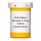 Amlodipine Besylate 2.5mg Tablets (Greenstone)