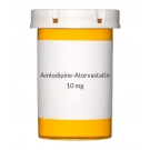 Amlodipine-Atorvastatin 10-10mg Tablets - 30 Count Bottle
