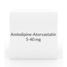 Amlodipine-Atorvastatin 2.5-40mg Tablets - 30 Count Bottle