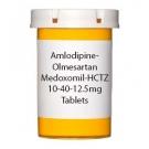 Amlodipine-Olmesartan Medoxomil-HCTZ 10-40-12.5mg Tablets