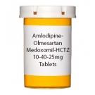 Amlodipine-Olmesartan Medoxomil-HCTZ 10-40-25mg Tablets