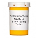 Amlodipine/Valsartan/HCTZ 5-160-12.5mg Tablets - 30 Count Bottle