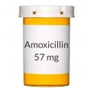 Amoxicillin/Clavulanate 400-57mg Chew Tablets