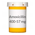 Amoxicillin Clavulanate 400-57mg Chew Tablets