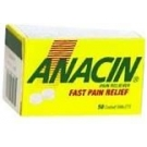 Anacin Tablet 50ct