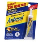 Anbesol Gel Maximum Strength 0.33oz
