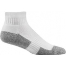 Dr. Comfort Diabetic Ankle Socks, White, Medium- 1 pair