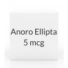 Anoro Ellipta 62.5mcg/25mcg  Inhaler (60 Blisters)