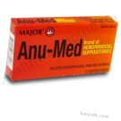 Anu-Med Hemorrhoidal Suppositories - 12 Suppositories