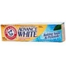 Arm & Hammer Advance White Toothpaste Tartar Control Dental Baking Soda And Peroxide - 4.3 oz