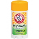 Arm and Hammer Essentials Solid Deodorant, Fresh Scent- 2.5oz