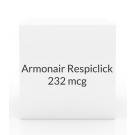 Armonair Respiclick  232mcg Inhaler- 60 Doses