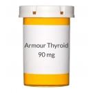 Armour Thyroid 90mg (1.5gr) Tablets