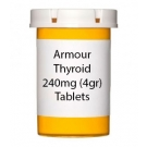 Armour Thyroid 240mg (4gr) Tablets